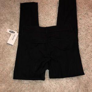 Old navy skinny black work pants